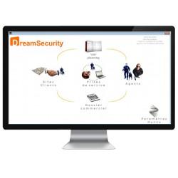 DreamSecurity - Logiciel de planification pour société de sécurité